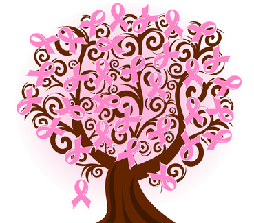 Breast cancer support group meeting