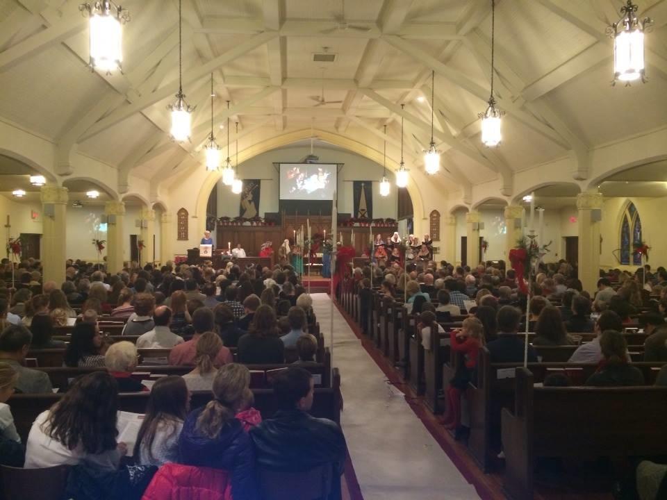 Church Service on Sunday