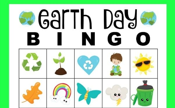 Play Earth Day Bingo
