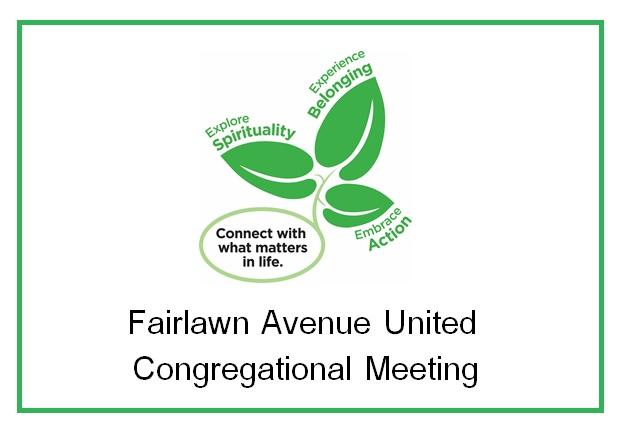 Congregational Information Session