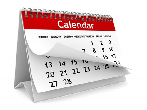 Online Calendar July 30 - August 5